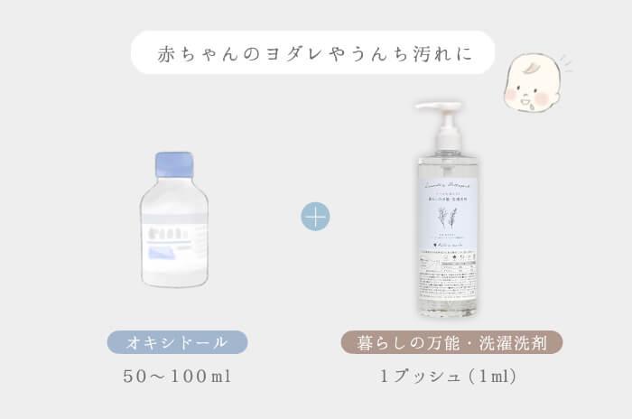 赤ちゃん専用洗剤