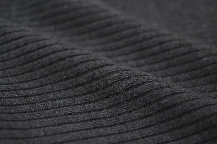 リブ編みアップ